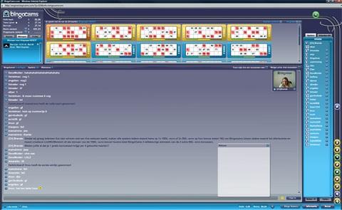 Multiplayer bingo kamers