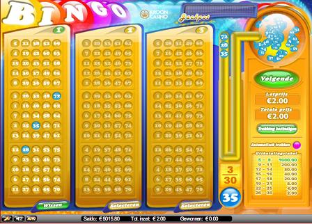 Bingo spelletje