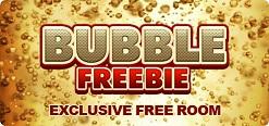 Gratis bingo in de Bubble Freebie bingokamer bij BeterBingo