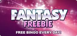 Gratis bingo is de Fantasy Freebie bingokamer