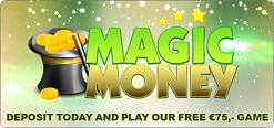 Gratis bingo in de Magic Money bingokamer